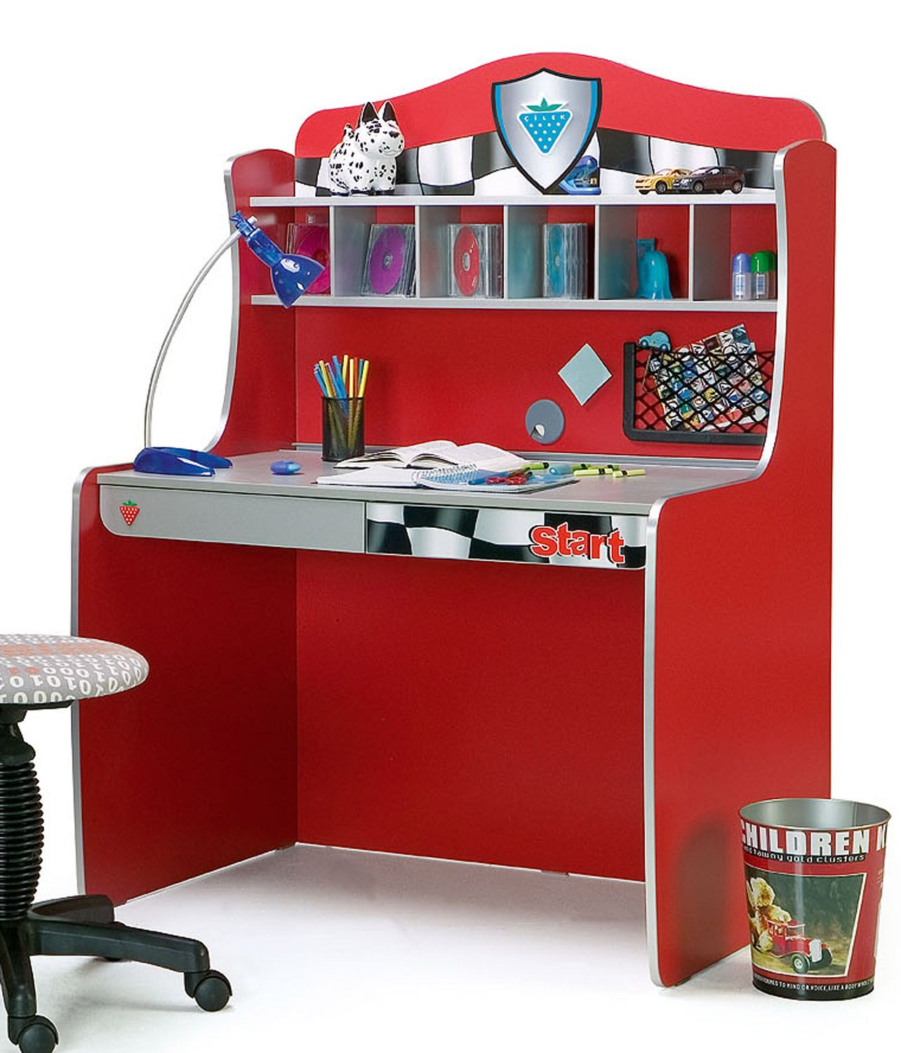 Desk For The Race Car Room