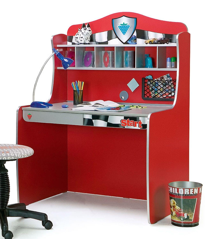 Desk For The Race Car Room