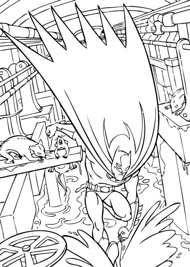 batman31   Batman coloring pages, Superhero coloring pages ...