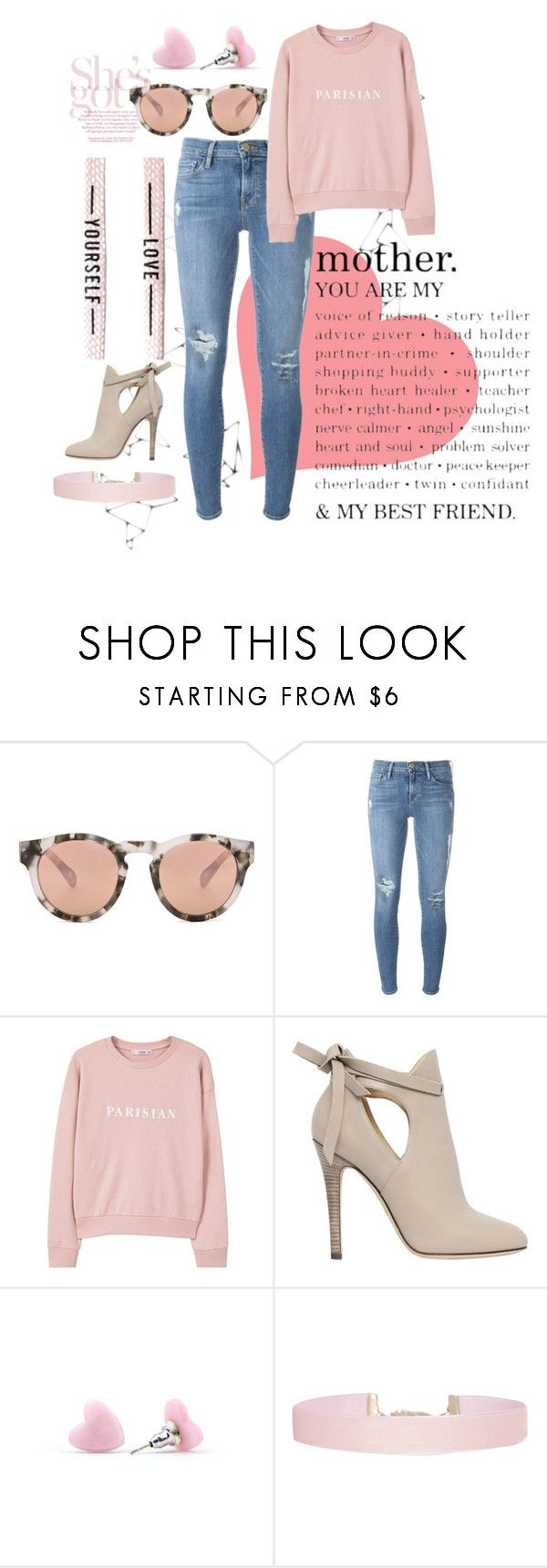 """""""Light"""" by isabellarowlee on Polyvore featuring Westward Leaning, Frame, MANGO, Jimmy Choo and Humble Chic"""