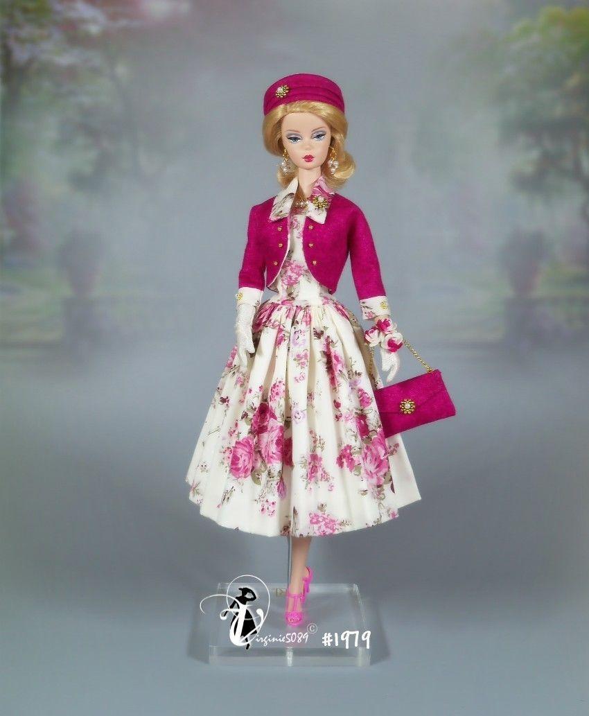 Doll Outfit Tenue Complete Barbie Silkstone Vintage Fashion Royalty 1979 Ebay Vintage Barbie Clothes Doll Clothes Barbie Clothes