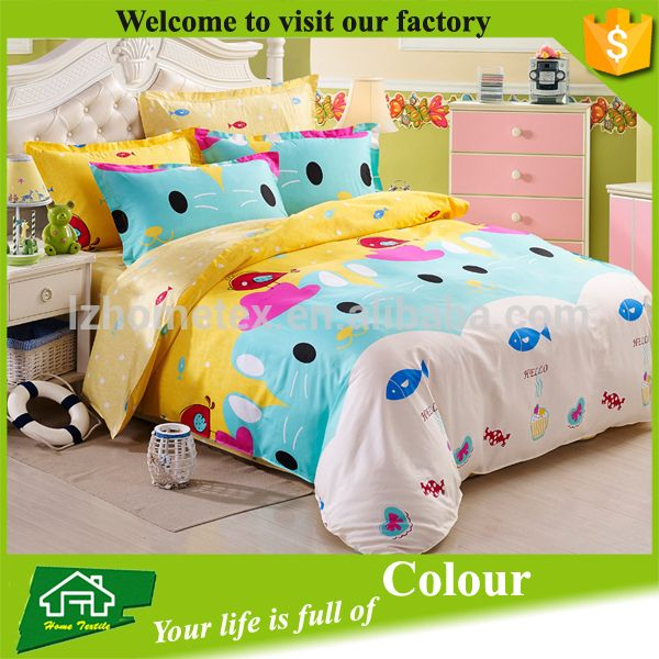 China Manufacture Wholesale Bed Cover Set Baby Cot Bedding Set