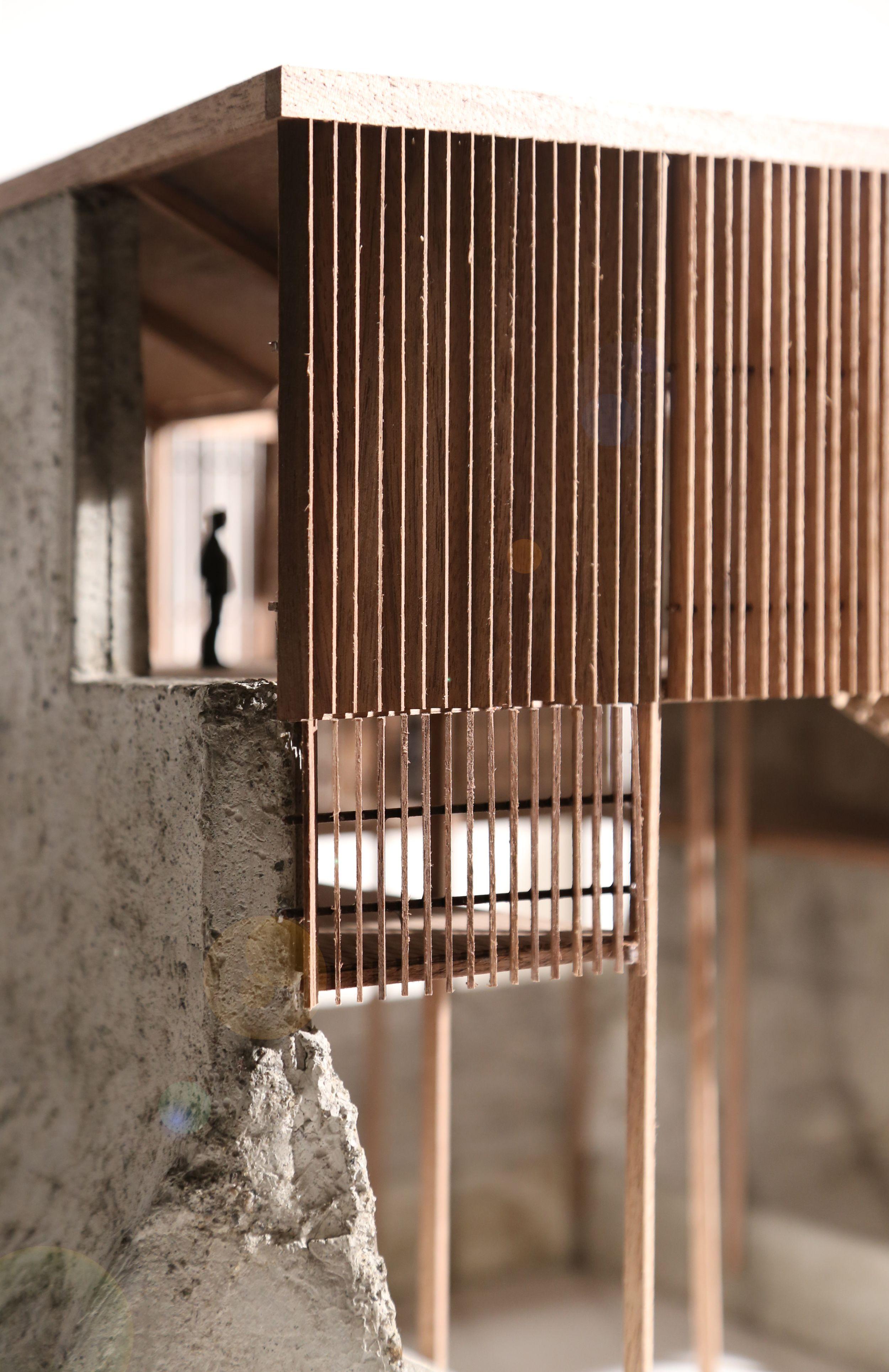 Allen Plasencia: architectural model. SHELTER FACTORY ...