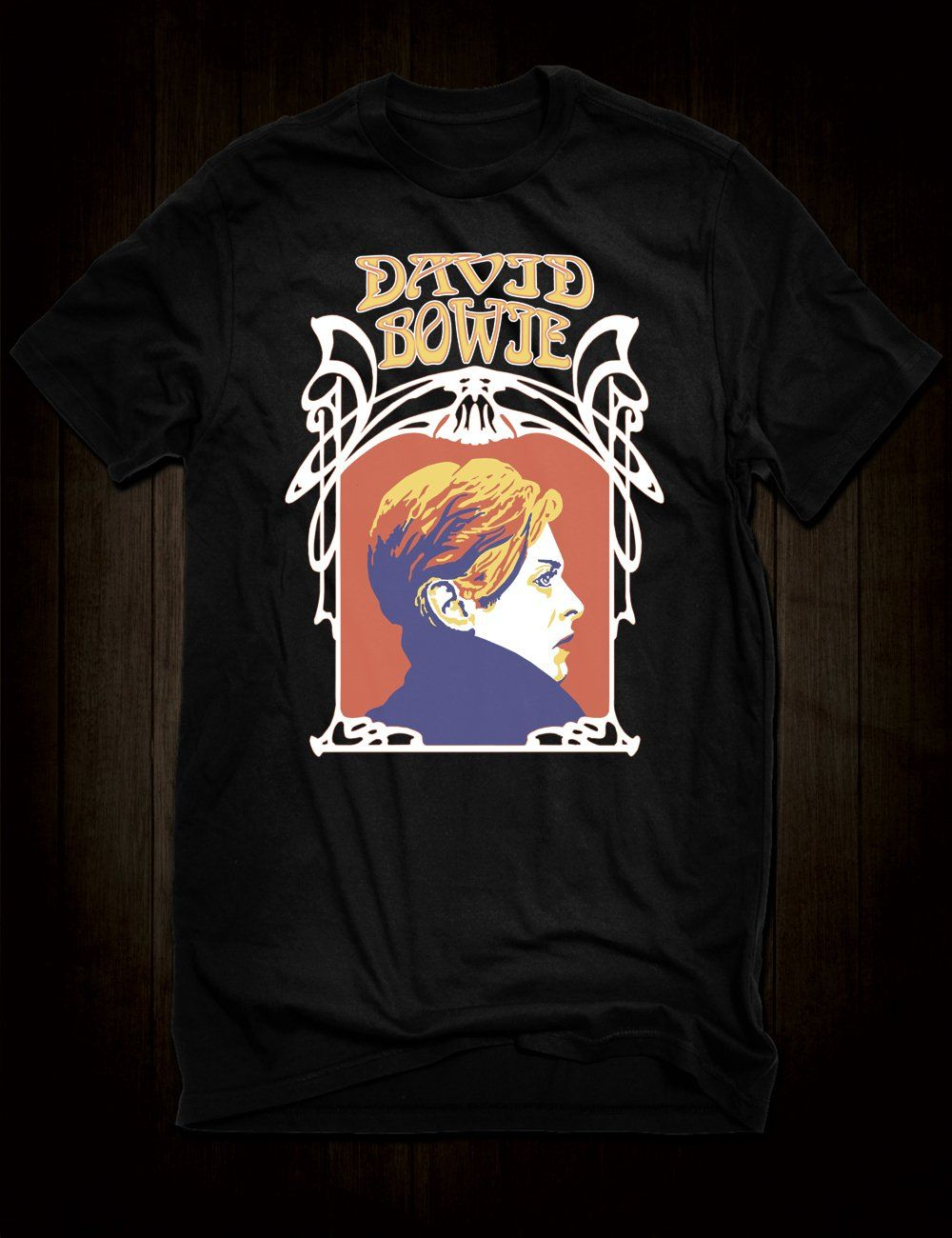 7b11d52b824 David Bowie Concert Poster T-Shirt - Small