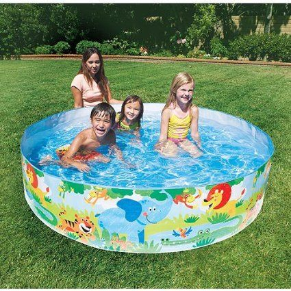 These Kids Snap Pools Are Awesome No Blowing Up Best Gifts Top Toys Blow Up Pool Kid Pool Pool