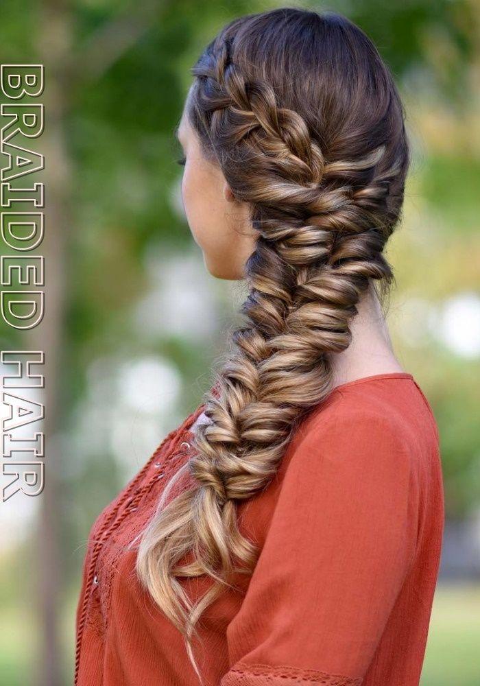 27 Long Braided Hair How long should I keep my braids in? Braided Hair Styles #BraidedHairIdeas ...