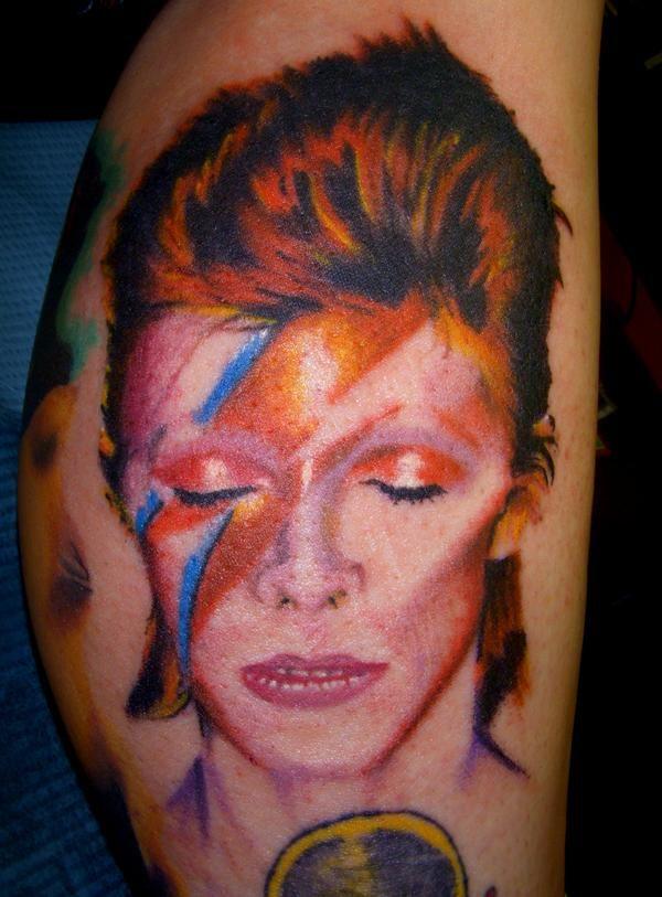 Aladdin Sane Tattoo Tattoo Ideas Bowie Tattoo David
