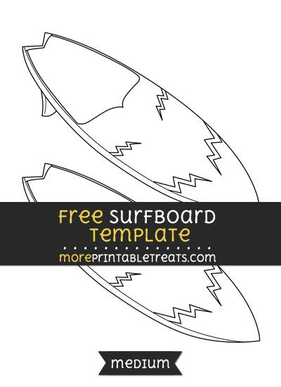 free surfboard template medium free printable cut outs