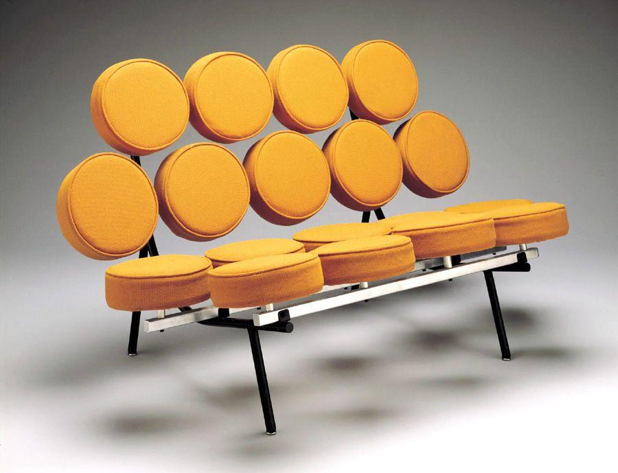Marshmallow Sofa / George Nelson For Herman Miller