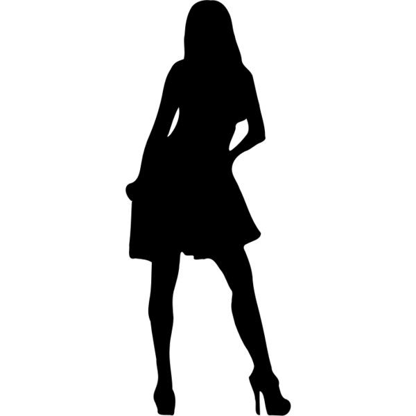 Woman Silhouette 21 Liked On Polyvore Featuring Silhouette Woman Silhouette Silhouette Silhouette Png