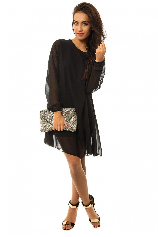 black shift dress | www.ustrendy.com ♥♥♥