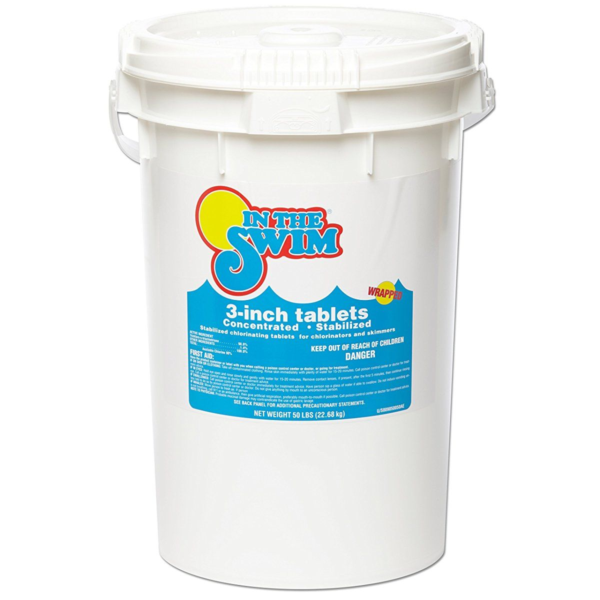 In The Swim 3 Inch Pool Chlorine Tablets 50 Lbs Swimming Pool Chlorine Pool Chlorine Swimming Pools