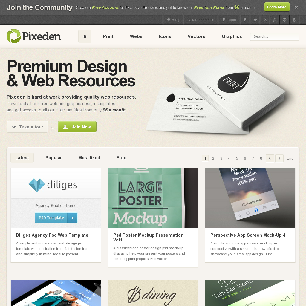 Poster design resources - Pixeden A Great Site For Web Design Resources