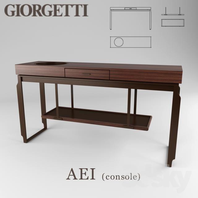 AEI console Table furniture, Furniture design