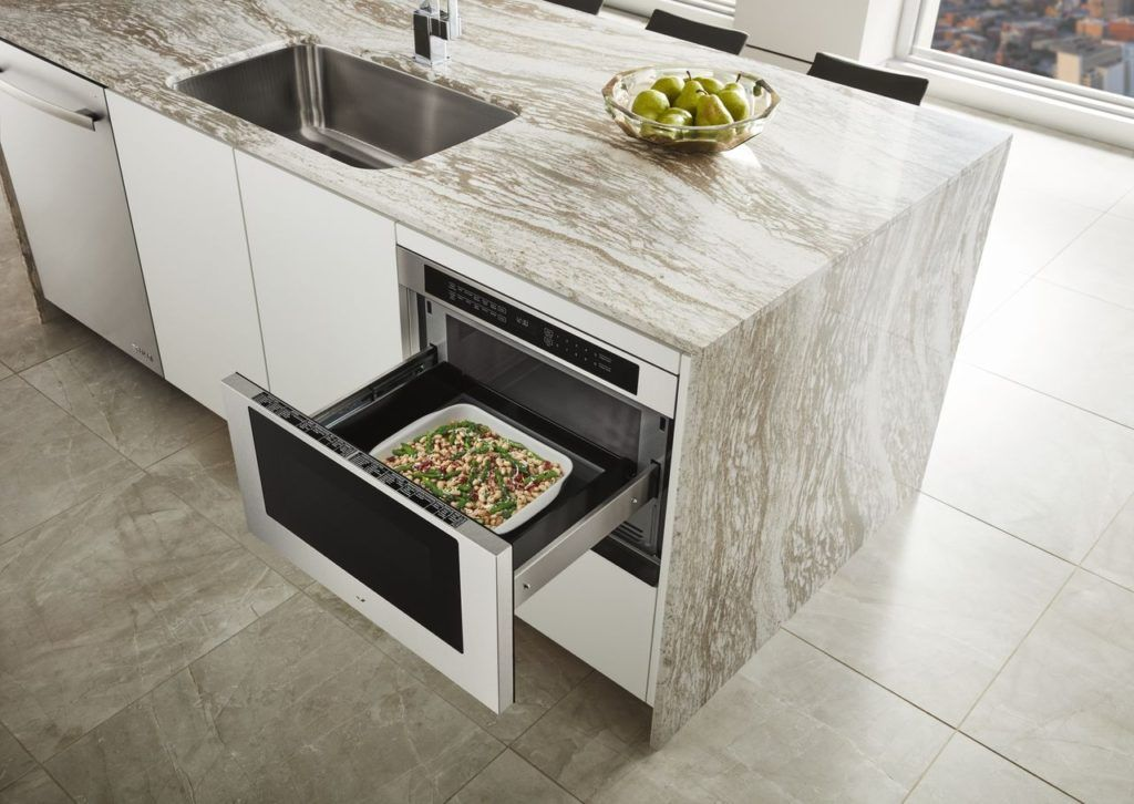 Choosing The Perfect Microwave Style For Your Kitchen Microwave Drawer Drawer Design Kitchen Appliances Luxury