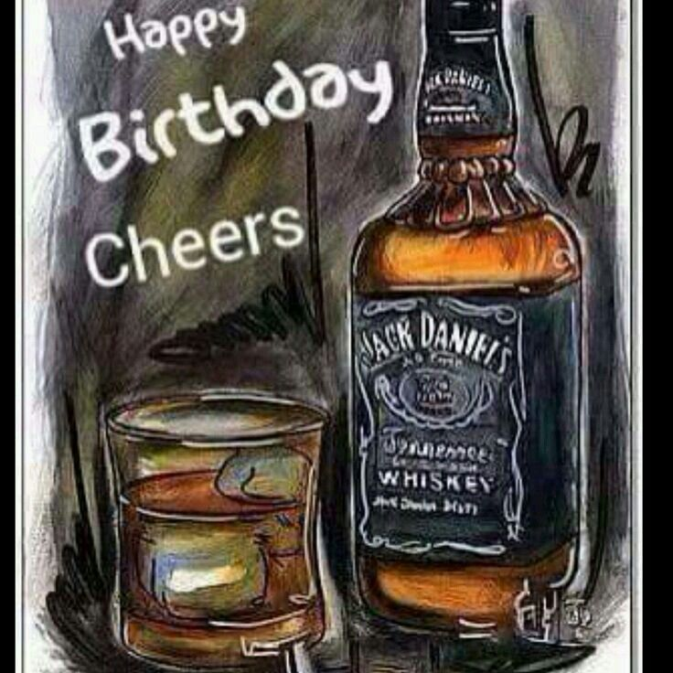 Pin By Ledonne Francisco On Whisky With Images Happy Birthday
