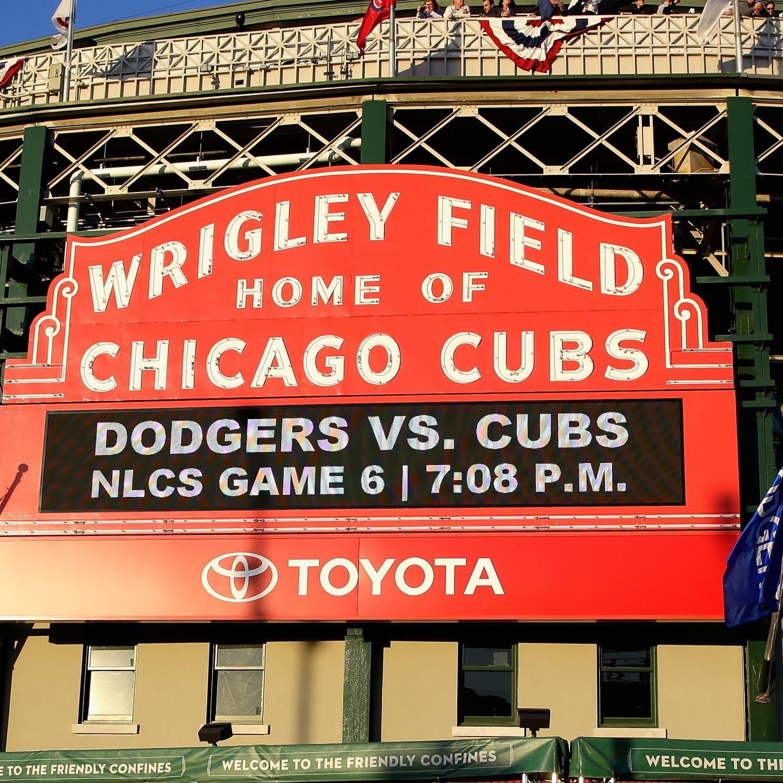 cubs score game dodgers vs bleacherreport nlcs highlights chicago