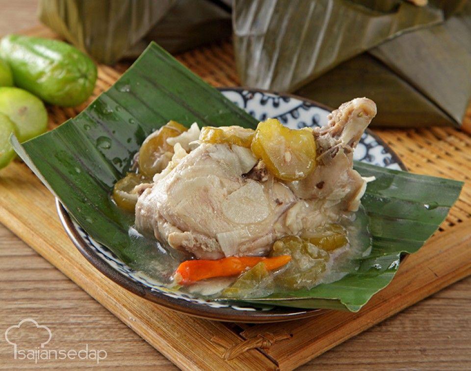 Garang Asem Khas Kudus Biasanya Berbahan Dasar Ayam Dengan Potongan Belimbing Sayur Santap Selagi Hangat Dengan Sepiring Nas Makan Malam Memasak Resep Makanan
