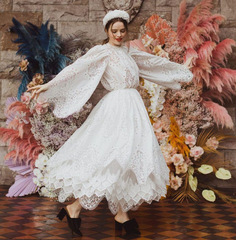 Photo of Colourful & Boho Wedding Inspiration from Ireland
