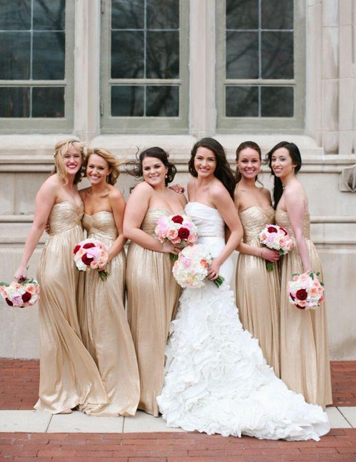 Ivory and Gold Bridesmaid Dresses. Special For You on Storenvy. 64 - Vestido  de Madrinha - champagne 97e85502eb18