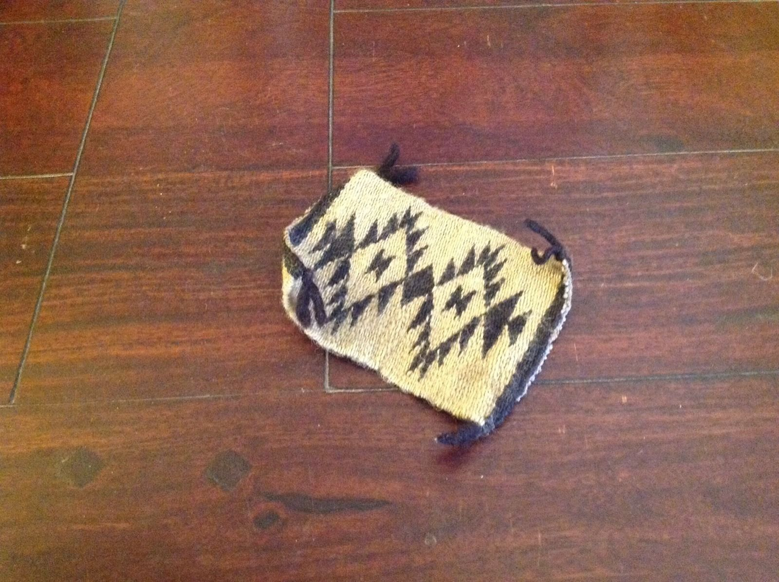 Vintage Miniature Two Grey Hills Rug 3 X 4 Inches Knotted At All Four Ends Vintage Miniatures Miniatures Navajo Rugs