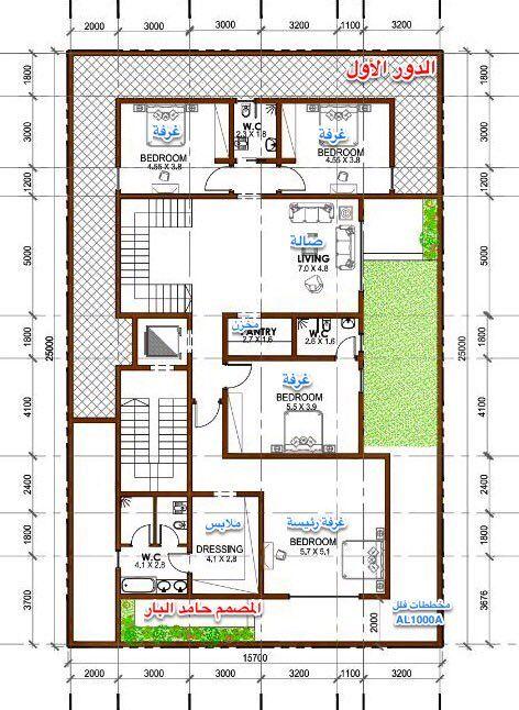 مخططات فلل On Twitter My House Plans New House Plans House Construction Plan