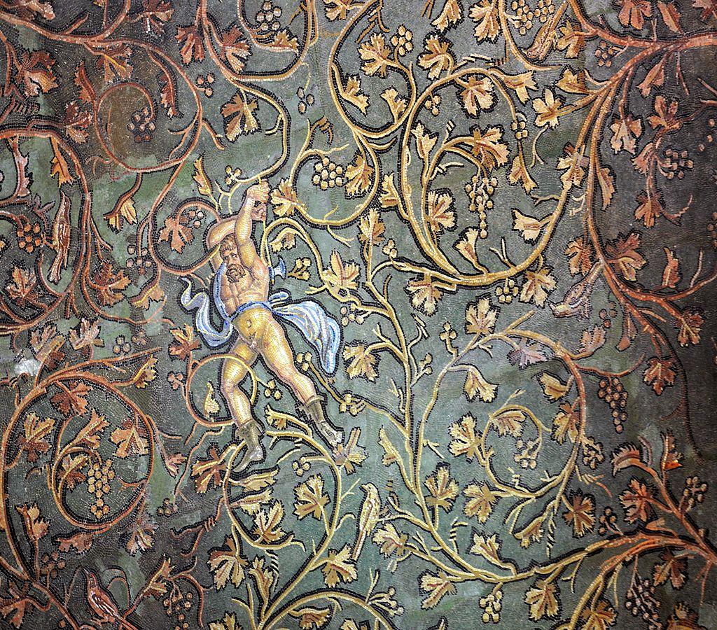 mus e gallo romain de st romain en gal fragment de la mosa que de lycurgue site. Black Bedroom Furniture Sets. Home Design Ideas
