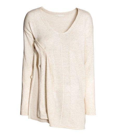 0af18f9a0b MAMA Knit Nursing Sweater