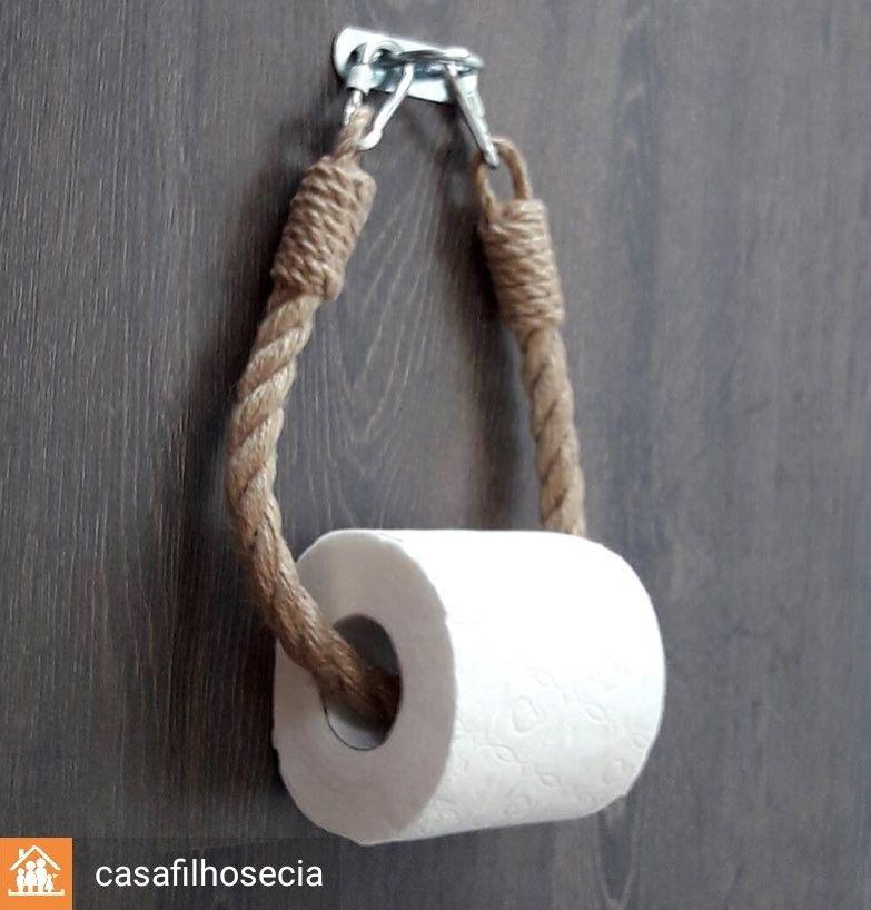 Photo of Porta papel higiênico of porta toalhas www.instagram.com …