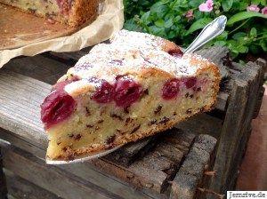 Saftiger Ruhrkuchen Mit Kirschen Aus Meinem Kuchen Und Tortenblog