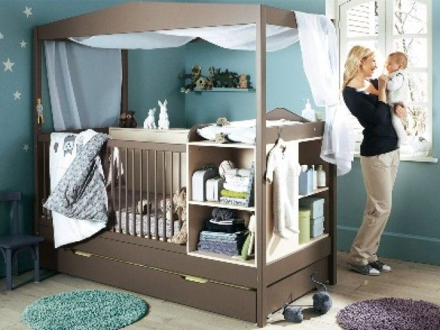Love this!! This is like the crib that has it all lol! Baby boy room ...
