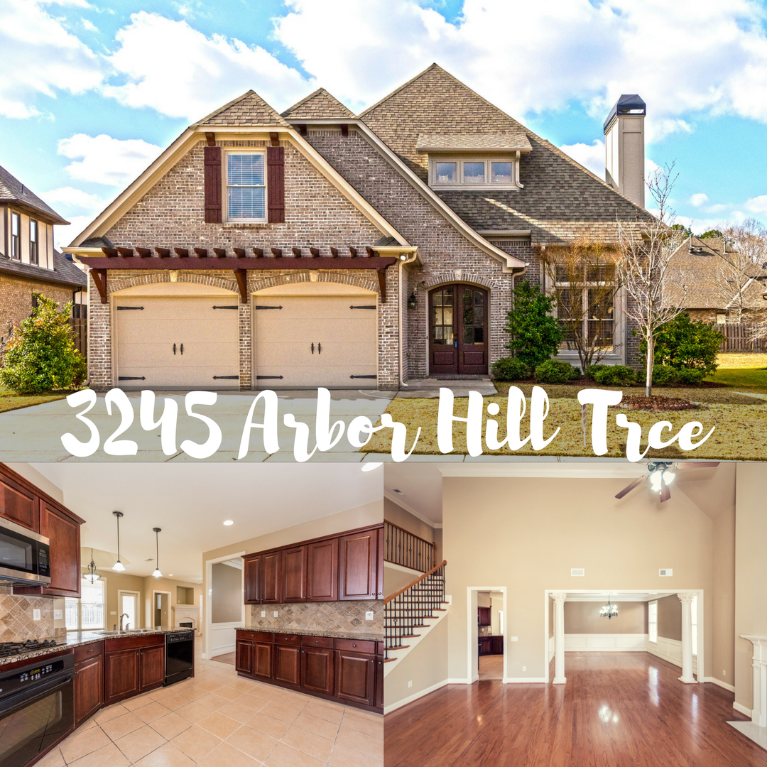 Arbor Hill Gated Community Fabulous Full Brick Home In The Heart