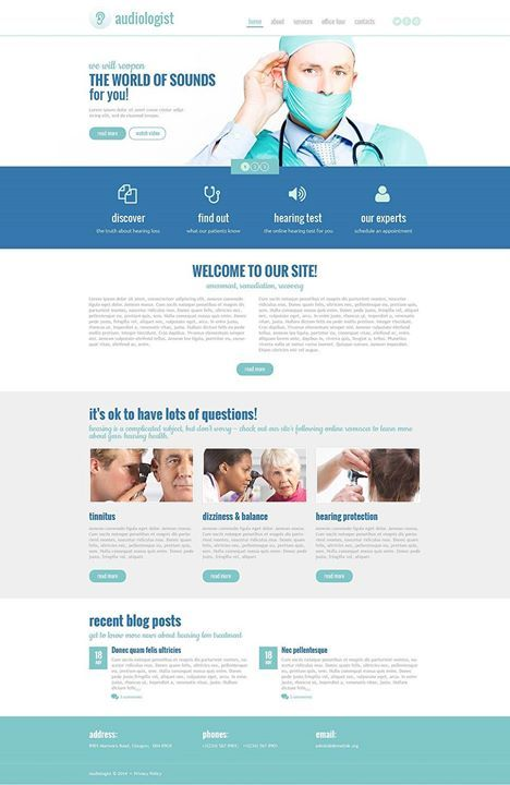 Marvelous Yes Or No Medical Responsive Website Template Click Here Live Demo Http Website Template Medical Website Design Responsive Website Template
