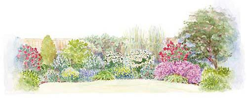Mix And Match Border Garden Plan: If Youu0027ve Always Wanted A Border That