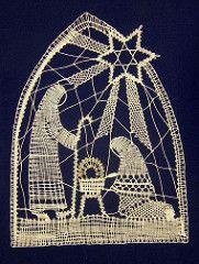 Juluaeg / Christmas / Weihnachten (priithalberg) Tags: christmas pits weihnachten lace decoration craft bobbinlace klppeln spitze ksit julud niplispits kaunistus