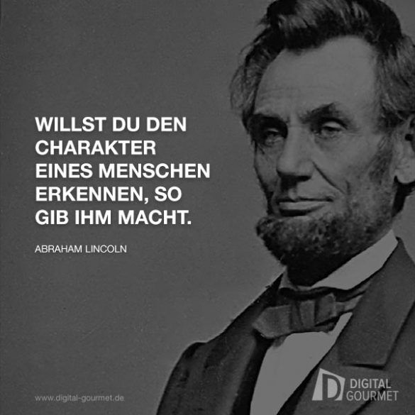 Zitate von Albert Einstein, Abraham Lincoln, Mahatma ...