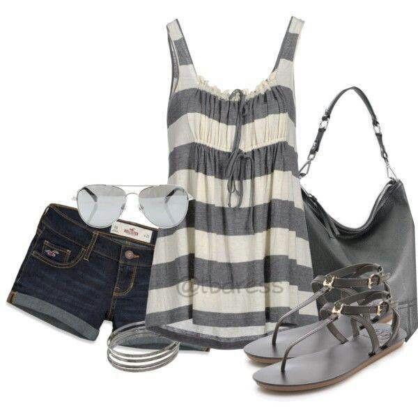 Strip tank outfit