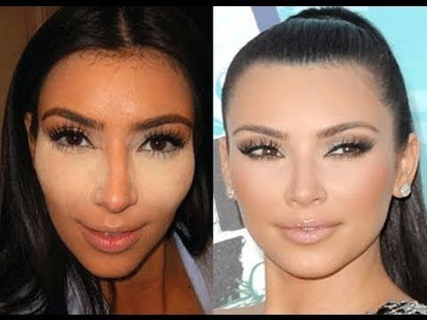 Kim Kardashian Glowing Skin tutorial... re-repinning because I tried this today and it looks AWESOME!