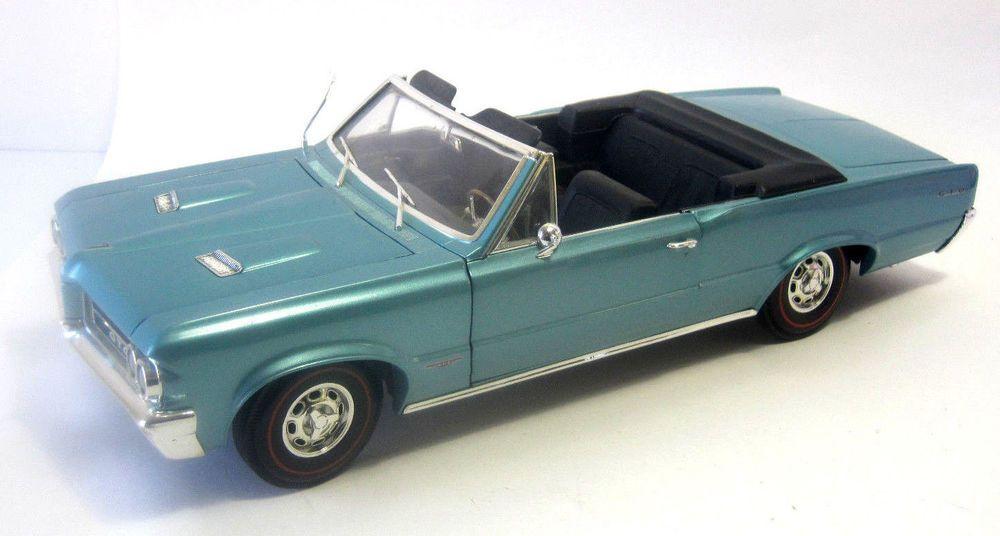 Perfect Ertl 1964 Pontiac GTO Convertible 1:12 Die Cast Aqua Muscle Car #Ertl # Amazing Ideas