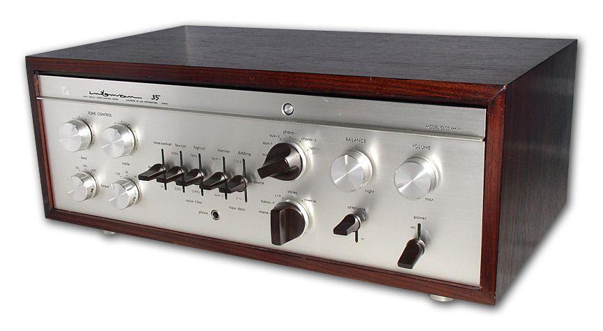 Luxman CL 35 tube pre amplifier