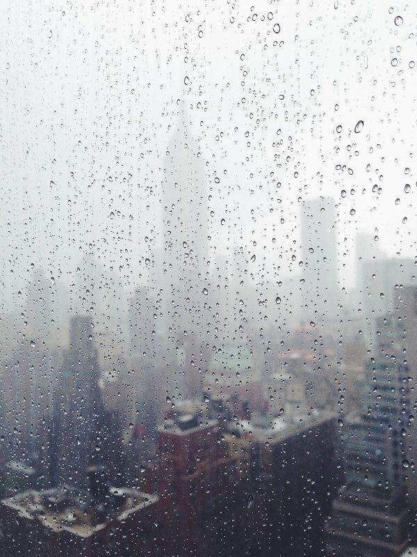 New York City Rain via nycpics on October 29 2018 at 01