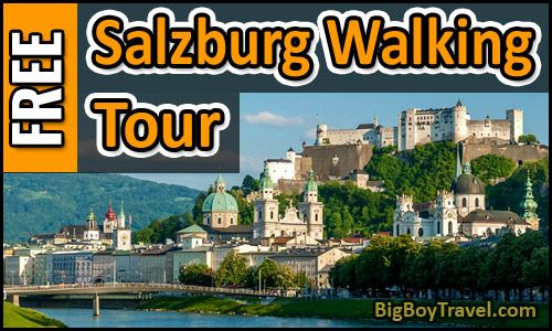 Our free Salzburg walking tour map of Old Town is the best self