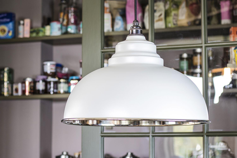 The Harborne Pendant Embodies Classic British Design It S Rounded