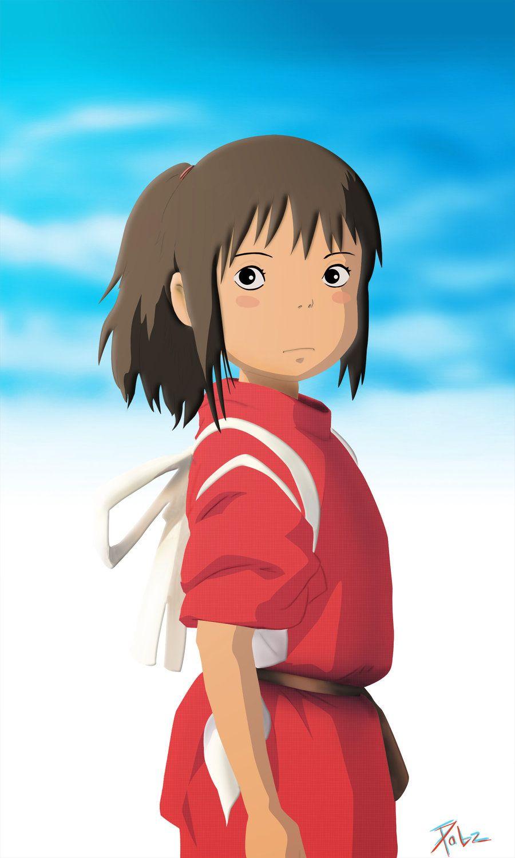 Spirited Away Chihiro 900 X 1500 Spirited Away Chihiro Fan Art By Pabzzz On Deviantart Spirited Away Ghibli Art Spirited Away Movie