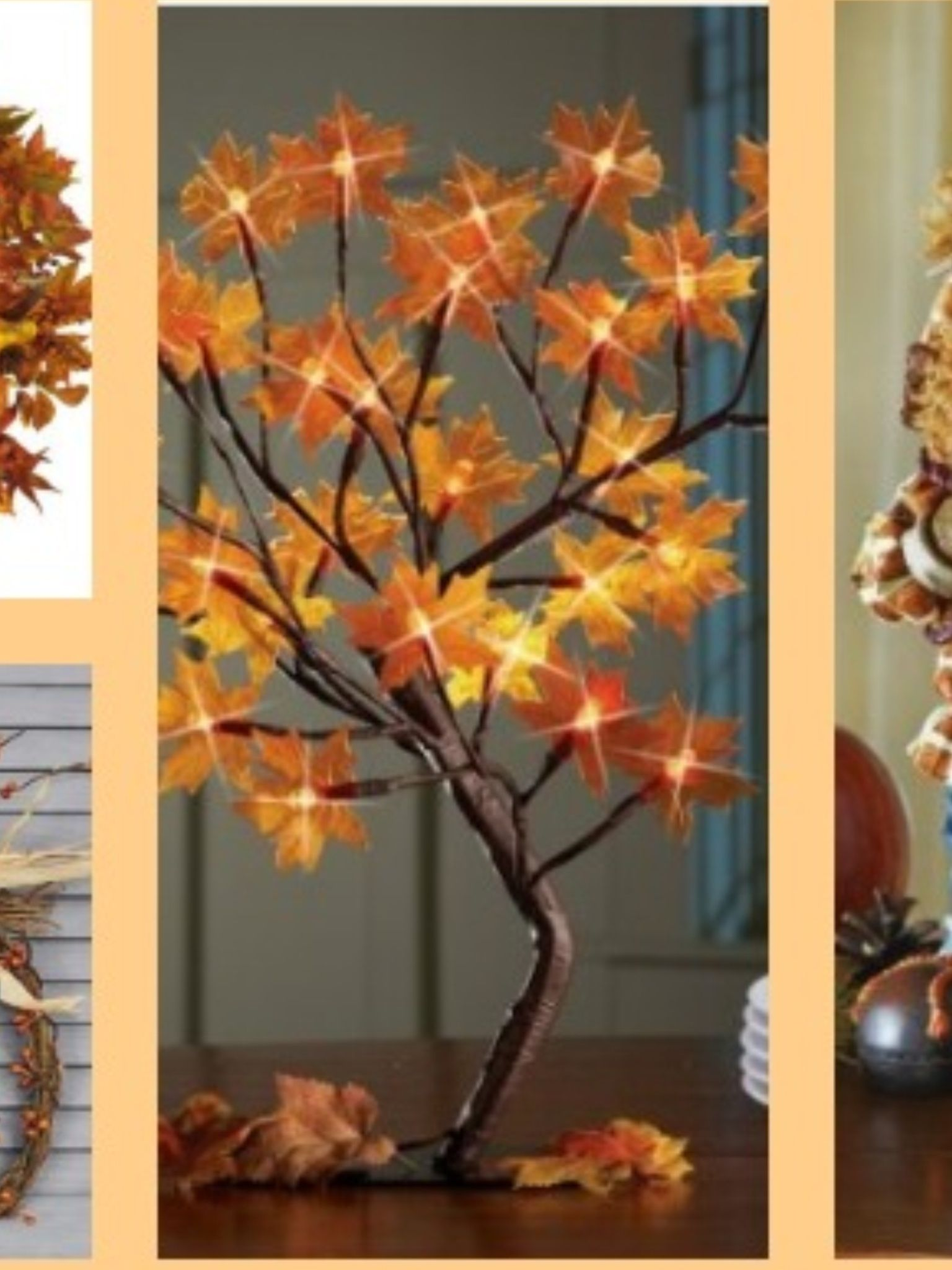 Love this Could take some of those lighted branches Adhere leafs - Inside Halloween Decorations