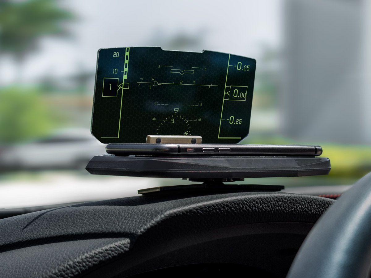 VIZR – Heads-Up Display Navigation For Safer Driving ...
