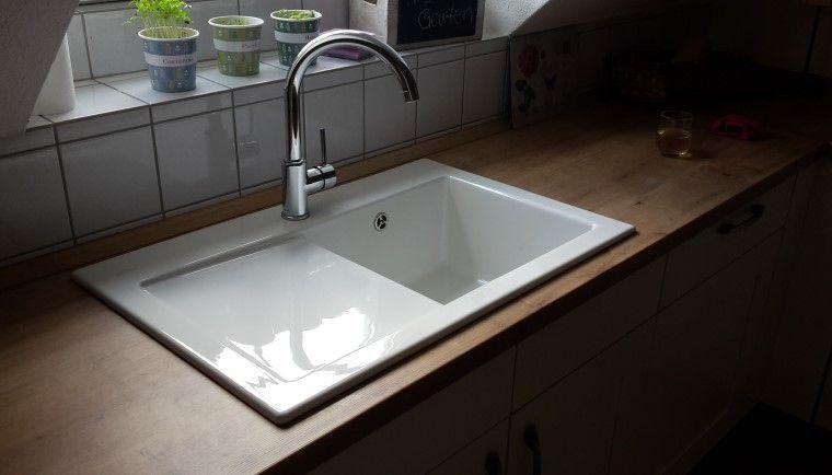 Keramikspüle Subway 45 Becken rechts - spüle für küche