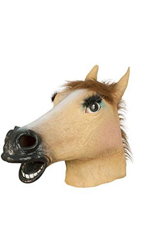 kingmas adult lady latex horse mask halloween women costume prop