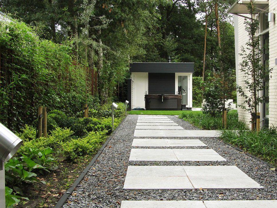 Tuinverlichting In Tegel : Design tuinverlichting stap tegels split minimalistisch outdoors