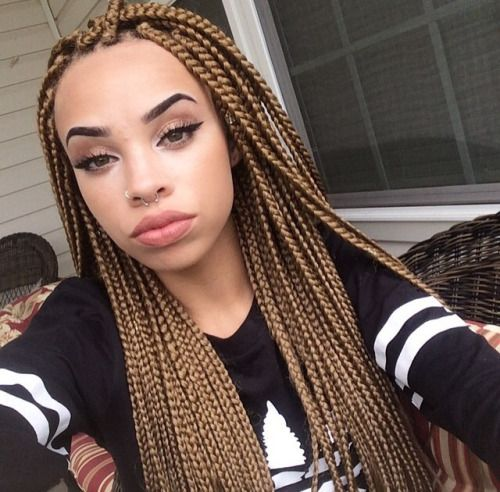 I Love Blonde Braids Or Close To Shades Of